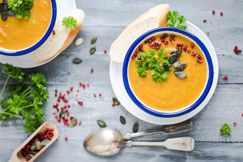 Sweet Potato Puree Soup